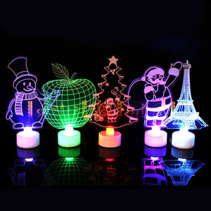3D STEREO NIGHT LIGHTS