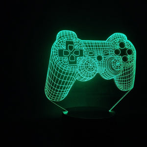 3D GAME CONSOLE NIGHT LIGHT LAMP