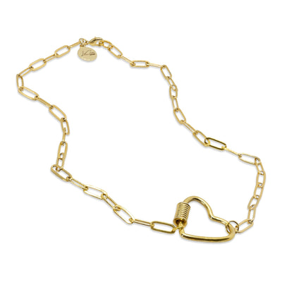 Love Lock Charm Necklace LaCkore Couture