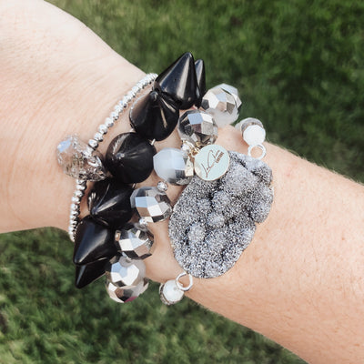 Silver Dreams Stack LaCkore Couture