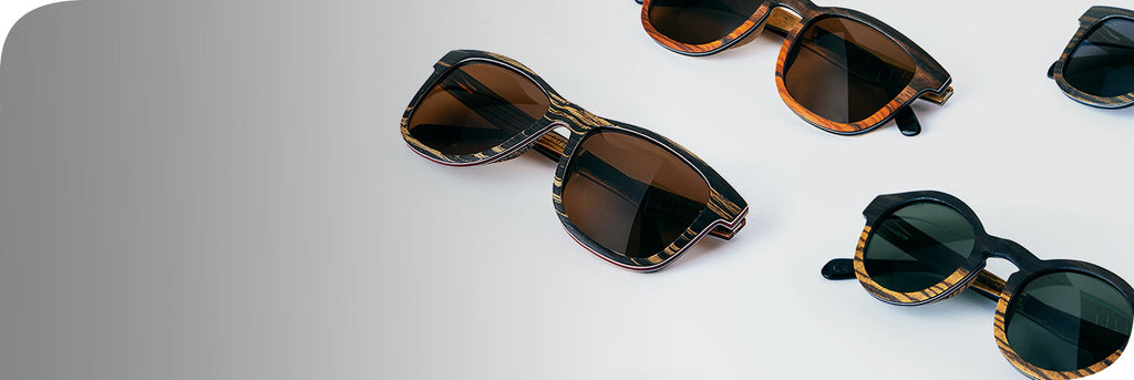 Unique wooden sunglasses for men and womens bamboo lightweight sunglasses