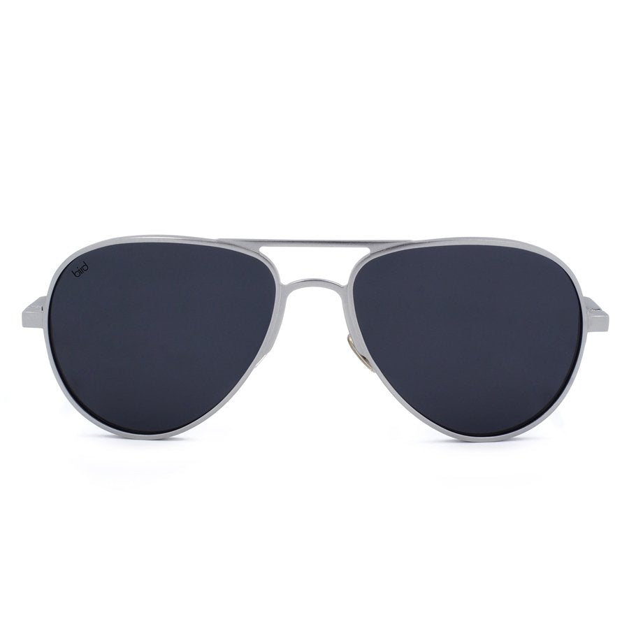 Apollo-Aviator-silver-front-Satellite-Bird-Sunglasses