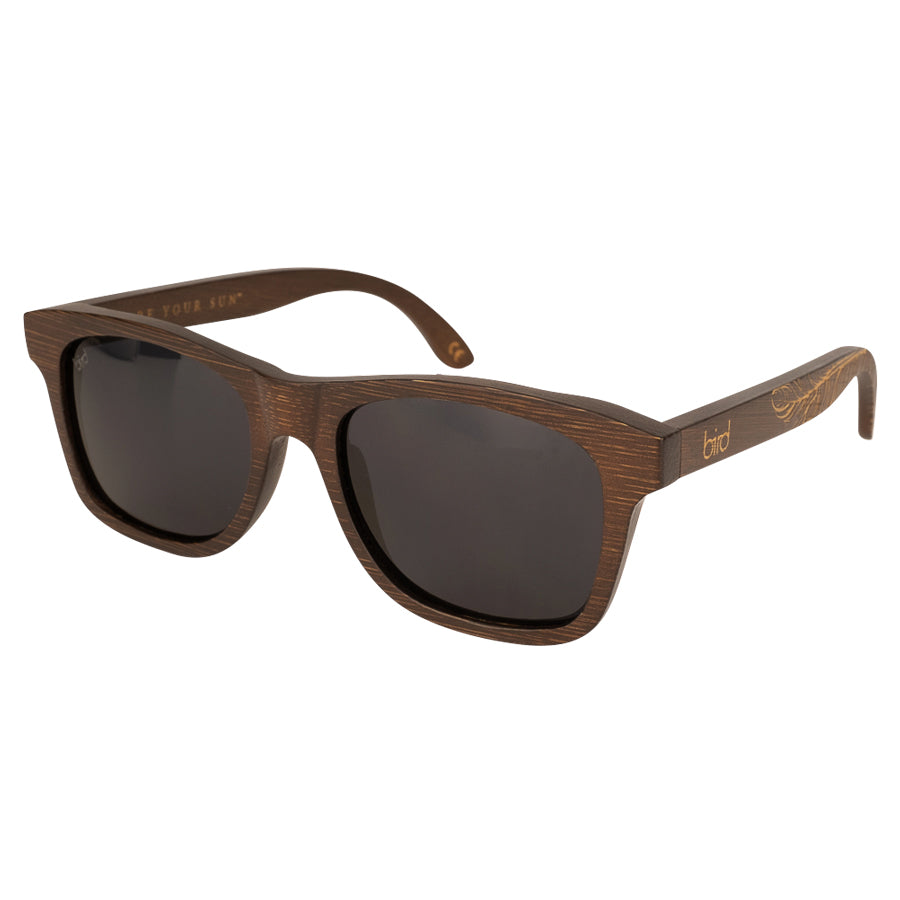 JAY-Feather-BROWN-Bird-Sunglasses-Front-side