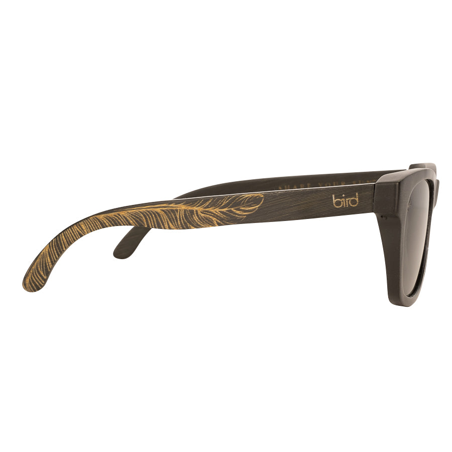 JAY-Feather-Black-Bird-Sunglasses-Side