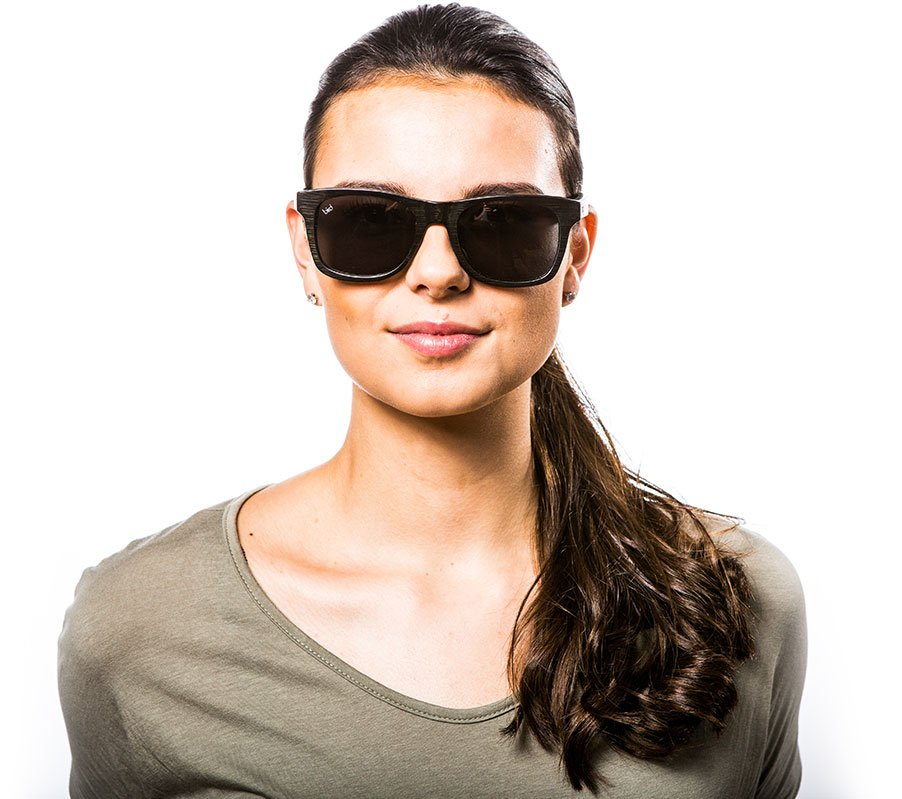 Jay-black-sunglasses-female-front-view