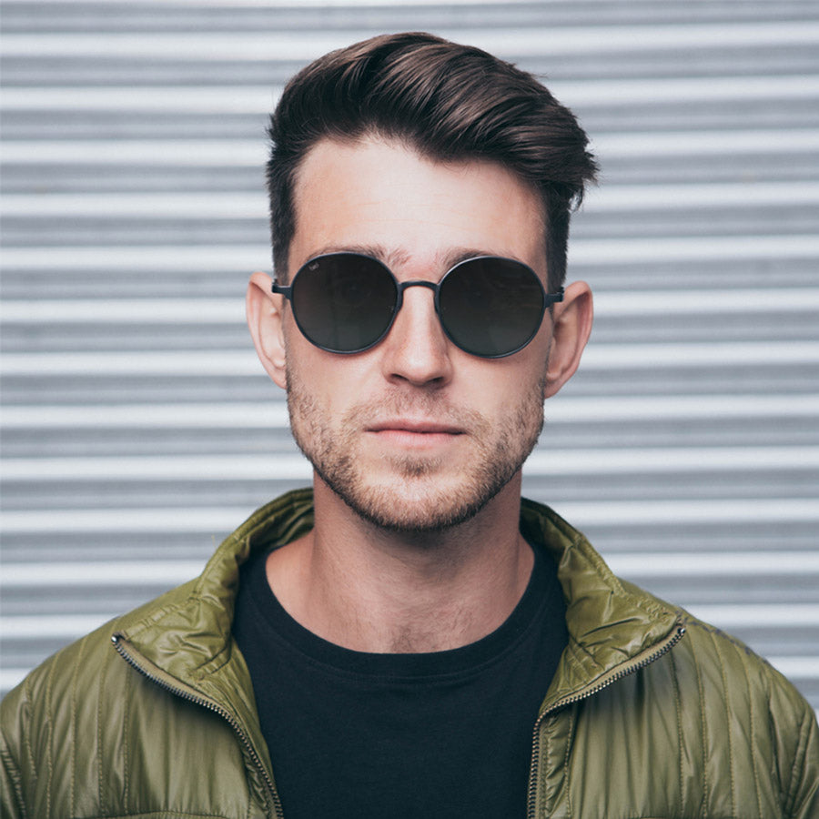 Luna-black-front-Satellite-Bird-Sunglasses