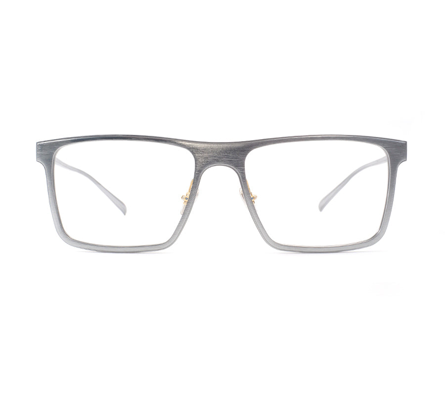 Nova-Silver-Square-Metal-Prescription-glasses-for-men-front