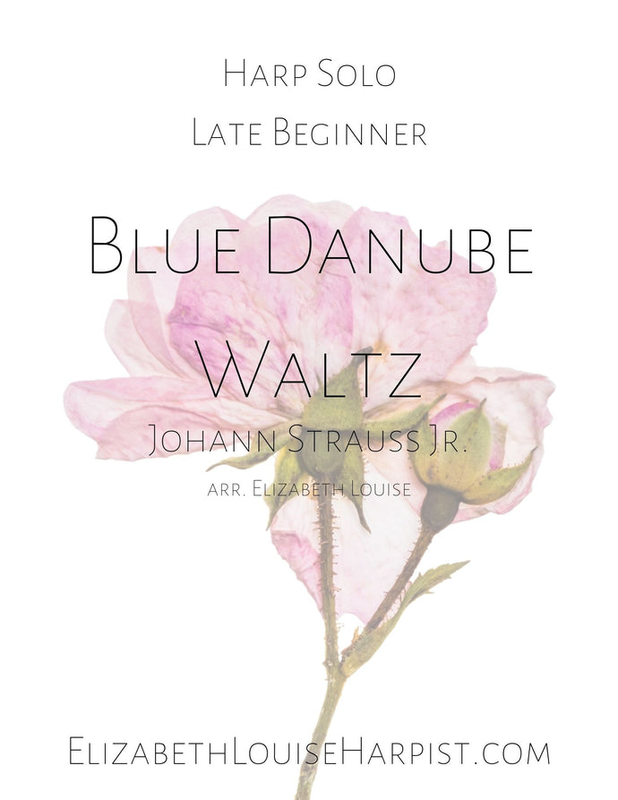 Blue Danube Waltz (Late Beginner)