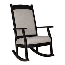 Load image into Gallery viewer, Amish USA Made Handcrafted Oakland Padded Back Rocker sold by Online Amish Furniture LLC