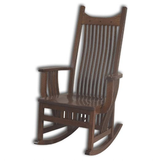 Amish USA Made Handcrafted Royal Mission Rocker sold by Online Amish Furniture LLC
