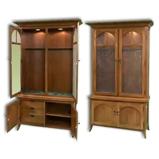 Amish USA Made Handcrafted Mt. Eaton-Bunker Hill 10-Gun Cabinet sold by Online Amish Furniture LLC