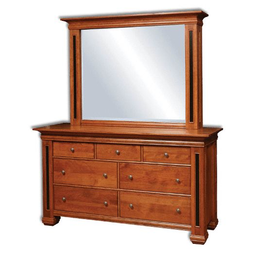 Amish USA Made Handcrafted Timber Ridge Dresser sold by Online Amish Furniture LLC