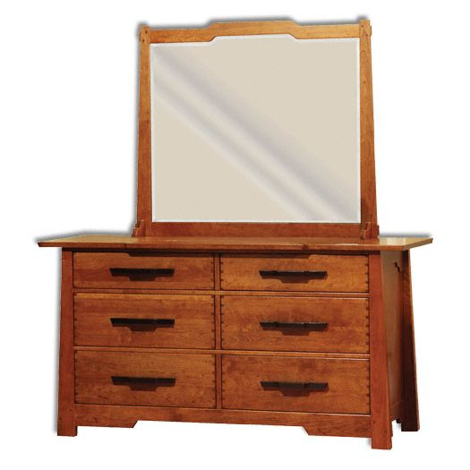 Amish USA Made Handcrafted Wind River Dresser sold by Online Amish Furniture LLC