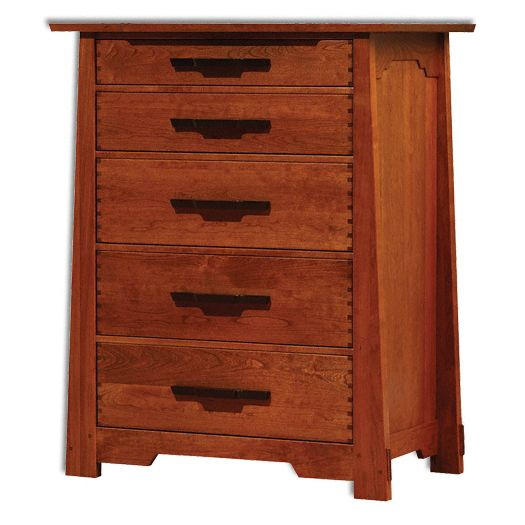 Amish USA Made Handcrafted Wind River Chest sold by Online Amish Furniture LLC