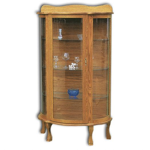 Amish USA Made Handcrafted Plain Jane Curio sold by Online Amish Furniture LLC