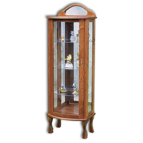 Amish USA Made Handcrafted Rectangular Curio sold by Online Amish Furniture LLC