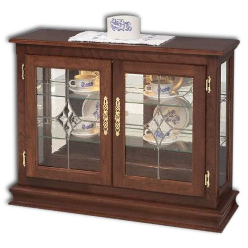 Amish USA Made Handcrafted Small Console Curio sold by Online Amish Furniture LLC