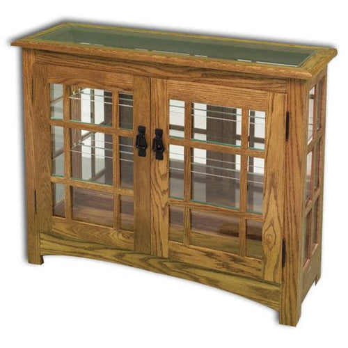Amish USA Made Handcrafted Mission Small Console sold by Online Amish Furniture LLC