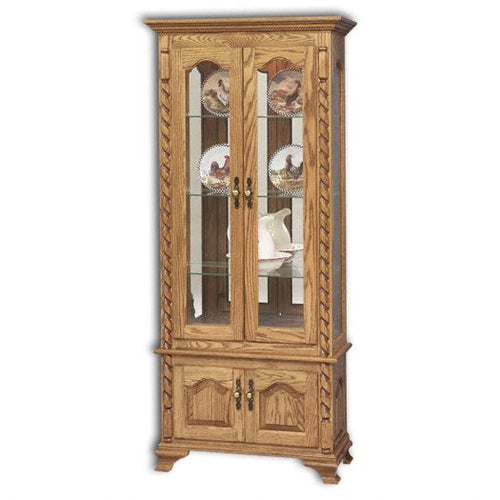 Amish USA Made Handcrafted Picture Frame Ropes Curio sold by Online Amish Furniture LLC