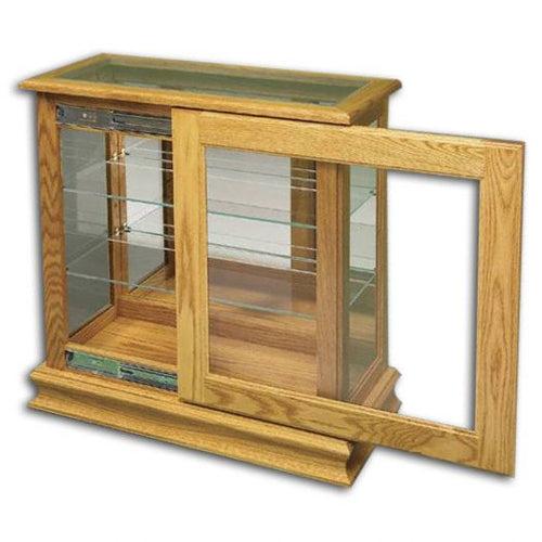 Amish USA Made Handcrafted Console Picture Frame w- Sliding Door sold by Online Amish Furniture LLC
