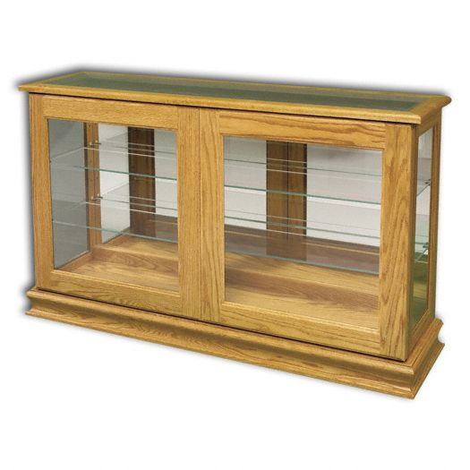 Amish USA Made Handcrafted Large Console w- Sliding Door sold by Online Amish Furniture LLC