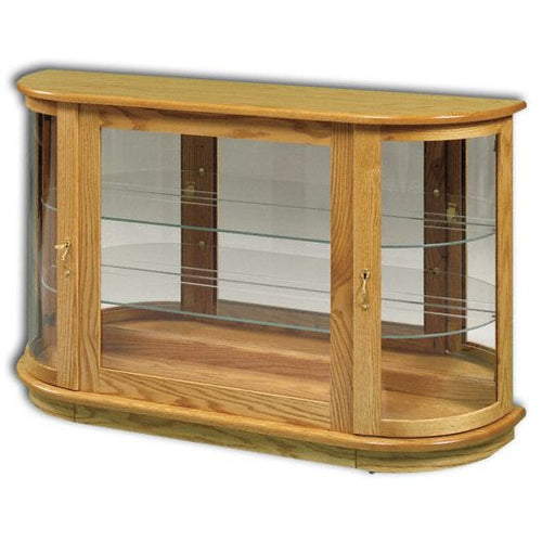 Amish USA Made Handcrafted Large Console With Rounded Sides sold by Online Amish Furniture LLC