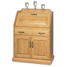 Load image into Gallery viewer, Amish USA Made Handcrafted Secretary Desk With Doors sold by Online Amish Furniture LLC