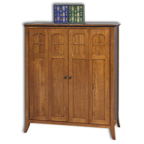 Amish USA Made Handcrafted Petite Mt. Eaton-Bunker Hill Computer Armoire sold by Online Amish Furniture LLC