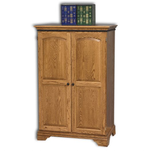 Amish USA Made Handcrafted Petite Computer Armoire sold by Online Amish Furniture LLC