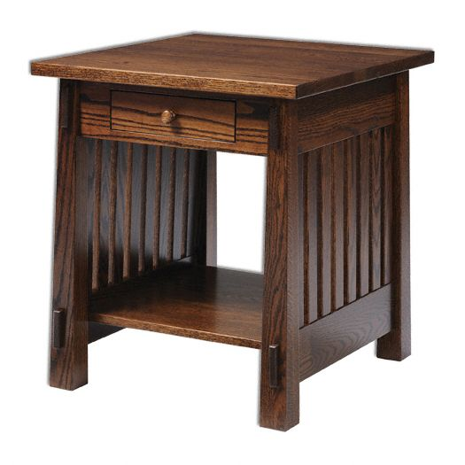 Amish USA Made Handcrafted Country Mission 4575 Occasional Tables sold by Online Amish Furniture LLC