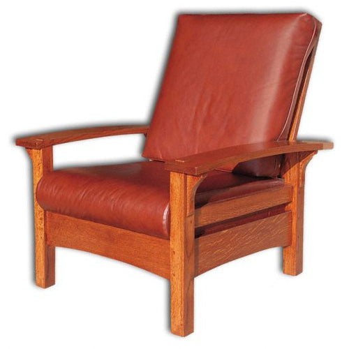 Amish USA Made Handcrafted Durango Morris Chair sold by Online Amish Furniture LLC