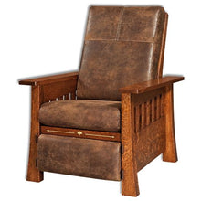 Load image into Gallery viewer, Amish USA Made Handcrafted Mesa Recliner sold by Online Amish Furniture LLC