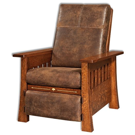 Amish USA Made Handcrafted Mesa Recliner sold by Online Amish Furniture LLC