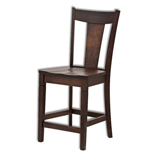Amish USA Made Handcrafted Parkland Barstool sold by Online Amish Furniture LLC