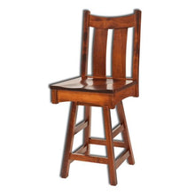 Load image into Gallery viewer, Amish USA Made Handcrafted Country Shaker Bar Stool sold by Online Amish Furniture LLC