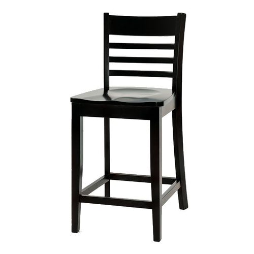 Amish USA Made Handcrafted Louisdale Bar Stool sold by Online Amish Furniture LLC