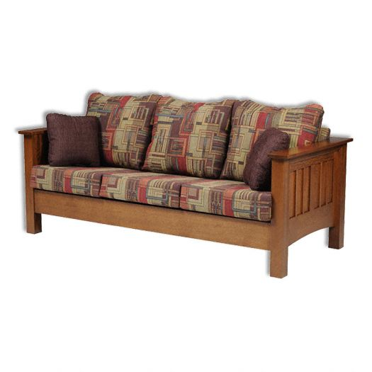 Amish USA Made Handcrafted YT Mission Sofa sold by Online Amish Furniture LLC
