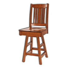 Load image into Gallery viewer, Amish USA Made Handcrafted Grant Bar Stool sold by Online Amish Furniture LLC