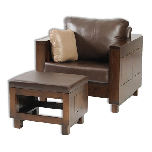 Amish USA Made Handcrafted Urban Mission Chair sold by Online Amish Furniture LLC