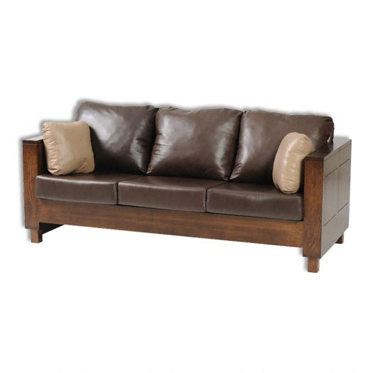 Amish USA Made Handcrafted Urban Mission Sofa sold by Online Amish Furniture LLC