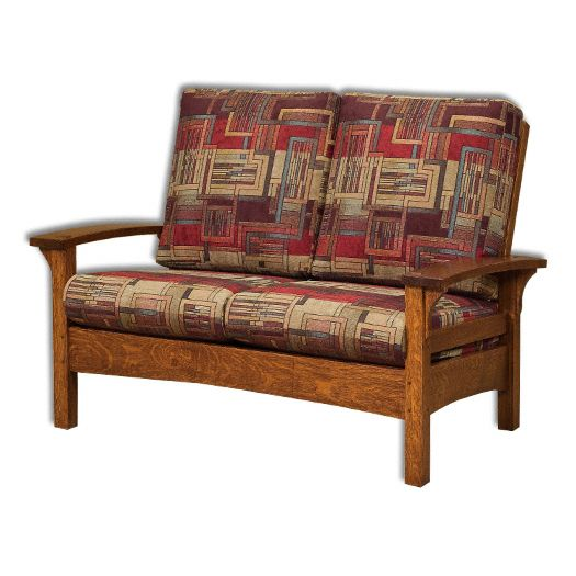 Amish USA Made Handcrafted Durango Loveseat sold by Online Amish Furniture LLC