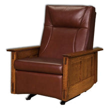 Load image into Gallery viewer, Amish USA Made Handcrafted McCoy Recliner Rocker sold by Online Amish Furniture LLC