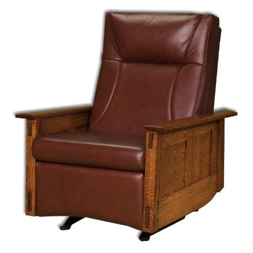 Amish USA Made Handcrafted McCoy Recliner Rocker sold by Online Amish Furniture LLC