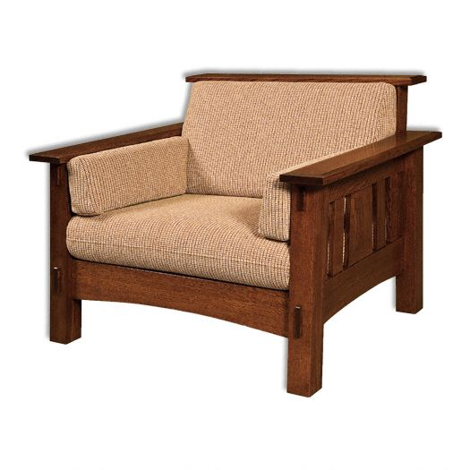 Amish USA Made Handcrafted McCoy Chair sold by Online Amish Furniture LLC