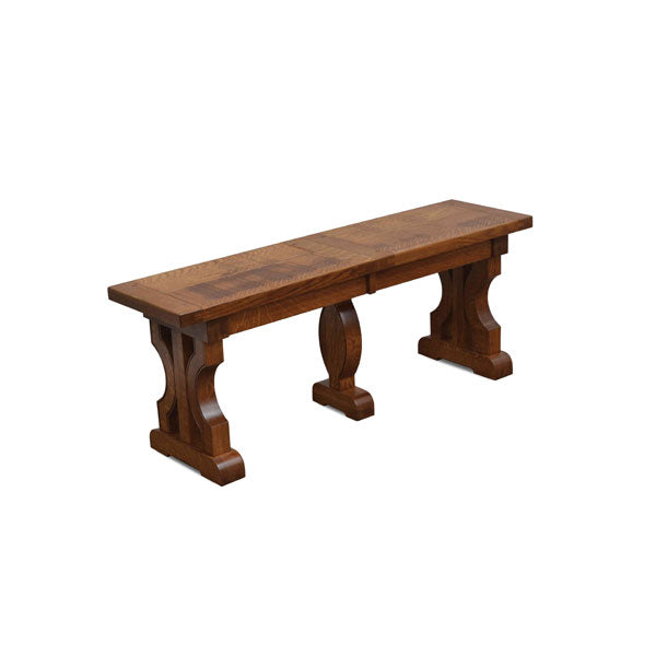 Amish USA Made Handcrafted Barstow Extenda Bench sold by Online Amish Furniture LLC