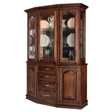 Load image into Gallery viewer, Amish USA Made Handcrafted Cantilever Hutch sold by Online Amish Furniture LLC