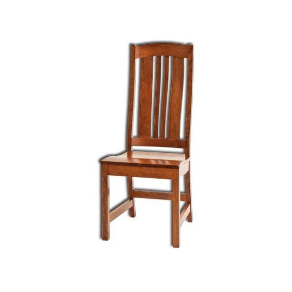 Amish USA Made Handcrafted Carolina Chair sold by Online Amish Furniture LLC