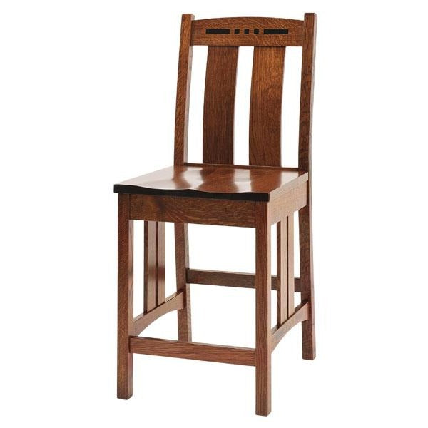 Amish USA Made Handcrafted Colebrook Bar Chair sold by Online Amish Furniture LLC