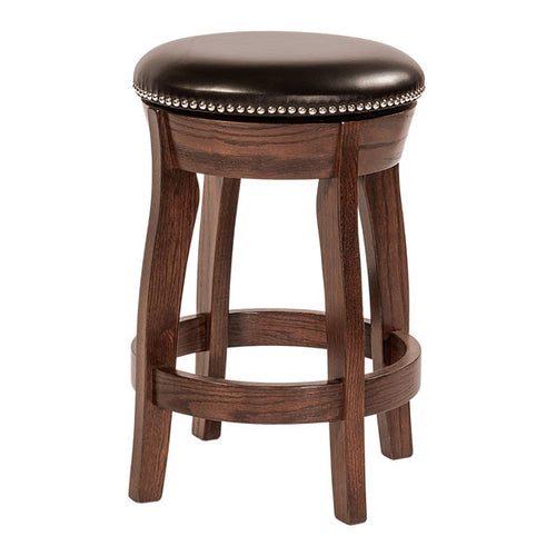 Amish USA Made Handcrafted Dillon Bar Stool sold by Online Amish Furniture LLC