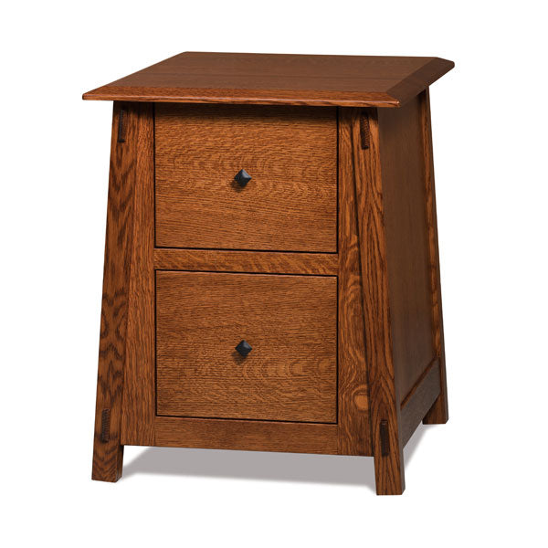 Amish USA Made Handcrafted Colbran 2-Drawer File Cabinet sold by Online Amish Furniture LLC